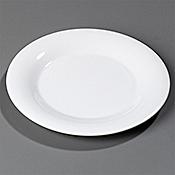 "Carlisle 10-1/2"" Wide Rim Dinner Plates - Dinner Plates"