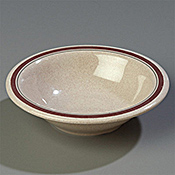 Carlisle 12 oz Pattern Rimmed Bowls - Carlisle
