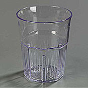 Carlisle 9 oz Old Fashion Lorraine Tumblers - Old Fashioned Glasses