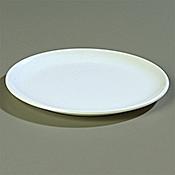 "Carlisle Epicure 8"" White Dinner Plates - Dinner Plates"