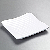 "Carlisle 6-1/4"" Square Plates - Dinner Plates"