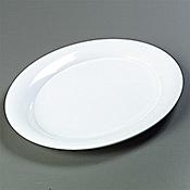 "Carlisle Oval 17"" x 13"" Platters - Servingware"