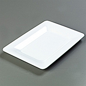 "Carlisle Rectangle 14"" x 10"" Platters - Servingware"