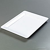 "Carlisle Rectangle 17"" x 13"" Platters - Servingware"