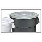 Continental 44 Gallon Gray SuperKan Lid - Continental