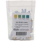 FMP QUAT Ammonia Litmus Test Strips with Zip Bag