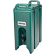 Cambro 5 Gallon Metal Latch Camtainer - Beverage Carriers