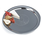 "Carlisle 22"" Round Heavyweight Tray - Servingware"