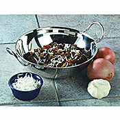 Carlisle 30 oz Stainless Steel Balti Dishes - Servingware