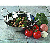 Carlisle 44 oz Stainless Steel Balti Dishes - Servingware