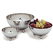 Carlisle 26 oz Stainless Steel Display Bowls - Servingware