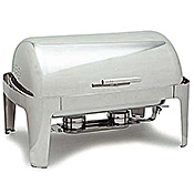 Carlisle Square Rectangular Roll-Top 8 Qt  - Catering Supplies