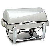 Carlisle Rectangular Roll-Top 8 Qt Chafer - Catering Supplies