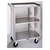Lakeside 3-Shelf Enclosed Service Cart - Lakeside