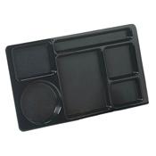 Carlisle Omni Directional 6 Compartment ABS Trays - Carlisle