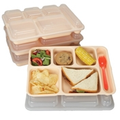 Cook's Clear 6-Compartment Tray Lids - Cook's Brand