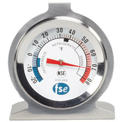 FSE Refrigerator/Freezer Thermometer - Foodservice Essentials