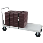 Cook's Aluminum Flatbed Delivery Cart - Cook's Brand