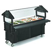 Carlisle 6' Portable Food Bar