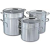 Vollrath 12 Qt Aluminum Double Boiler - Vollrath Cookware