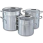 Vollrath 20 Qt Aluminum Double Boiler - Vollrath Cookware