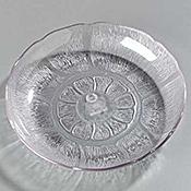 Carlisle Petal Mist Clear Soup/Salad Plates - Servingware