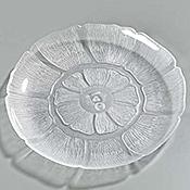 """Carlisle Petal Mist Clear Plates 9"""" - Dinner Plates"""