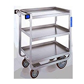 "Lakeside Heavy-Duty 30"" x 16"" 3-Shelf Utility Cart  - Lakeside"