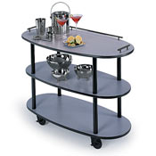 Lakeside 3-Shelf Open Service Cart