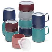 "Dinex 8 oz Mugs with ""3 finger"" handle - Dinex"