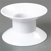 "Carlisle 4"" Plate Stands - Servingware"