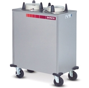 "Dinex Heated Enclosed 4 Silo 9-1/8"" Plate Dispenser - Dinex"