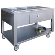 Lakeside 4 Well Electric Steam Table - Portable Steam Tables