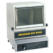 Gold Medal 8150 Hot Dog Steamer & Bun Warmer 50 Hot Dog capacity - Hot Dog Equipment and Supplies