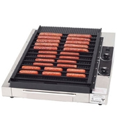 Gold Medal 8160 Grilla Reciprocating Hot Dog Grill 36 Hot Dog capacity - Hot Dog Equipment and Supplies