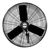 "Air King 24"" Oscillating Industrial Wall Mount Fan - Sale"