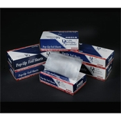 "Durable Packaging 9"" x 10-3/4"" Aluminum Foil Sheets - Foodservice Film & Film Dispensers"