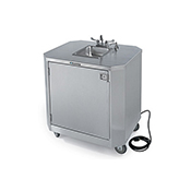 Lakeside Mobile Hot and Cold Water Hand Wash Station - Kiosks and Carts