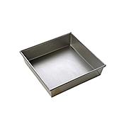 """Focus 9"""" Square Aluminized Steel Cake Pans - Focus Foodservice"""