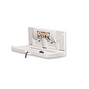 DryBaby Horizontal Polyethylene Changing Station - Surface Mounting - Baby Changing Stations
