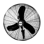 "Air King 1/3 HP Industrial Grade 24"" Oscillating Wall Mount Fan - Sale"