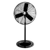 "Air King 1/4 HP Industrial Grade 24"" Oscillating Pedestal Fan  - Sale"