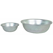 "Economy 8-1/2"" x 2-3/4"" Asian-Style Colander - Skimmers and Strainers"