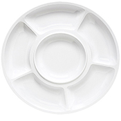 "G.E.T. Milano 14"", 6-Compartment Plate - Servingware"