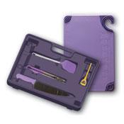 San Jamar ASZ121812SYS Allergy Segregated Kitchen Tool Kit - San Jamar
