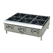 FSE Black Diamond BDCTH-36 6 Burner Heavy Duty Hotplates - Foodservice Essentials