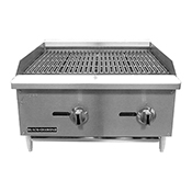 "FSE Black Diamond BDECTC-36 36"" Standard Series Charbroiler - Foodservice Essentials"