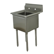 Advance Tabco FE-1-1812-X Stainless Steel Fabricated Sink