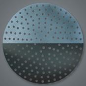 "American Metalcraft 11"" Aluminum Perforated Disk - American Metalcraft"