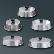 "American Metalcraft 10"" Round Aluminum Basting Cover - American Metalcraft"